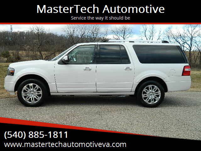 2014 Ford Expedition EL for sale at MasterTech Automotive in Staunton VA
