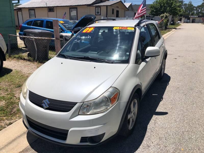 2009 Suzuki SX4 Crossover for sale at Castagna Auto Sales LLC in Saint Augustine FL