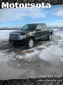 2011 Ford F-150 for sale at Motorsota in Becker MN