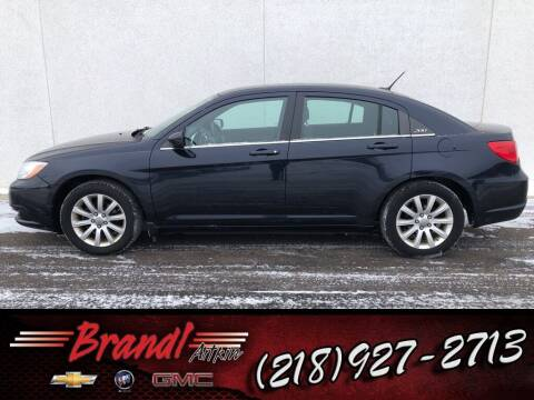 2011 Chrysler 200 for sale at Brandl GM in Aitkin MN