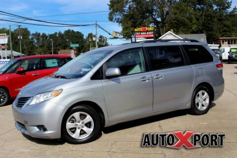 2013 Toyota Sienna for sale at Autoxport in Newport News VA