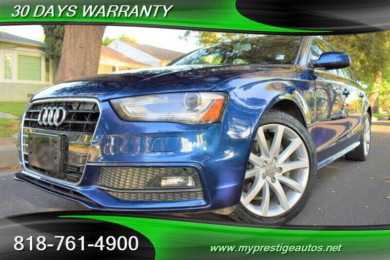 2014 Audi A4 for sale at Prestige Auto Sports Inc in North Hollywood CA