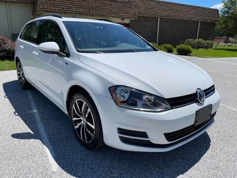 2016 Volkswagen Golf SportWagen for sale at CROSSROADS AUTO SALES in West Chester PA