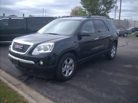2012 GMC Acadia for sale at Ranney's Auto Sales in Eau Claire WI