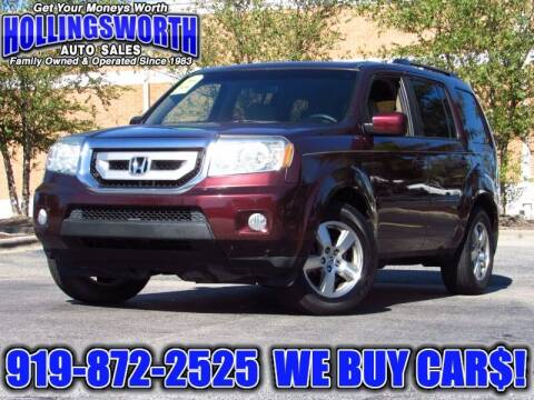 2011 Honda Pilot for sale at Hollingsworth Auto Sales in Raleigh NC