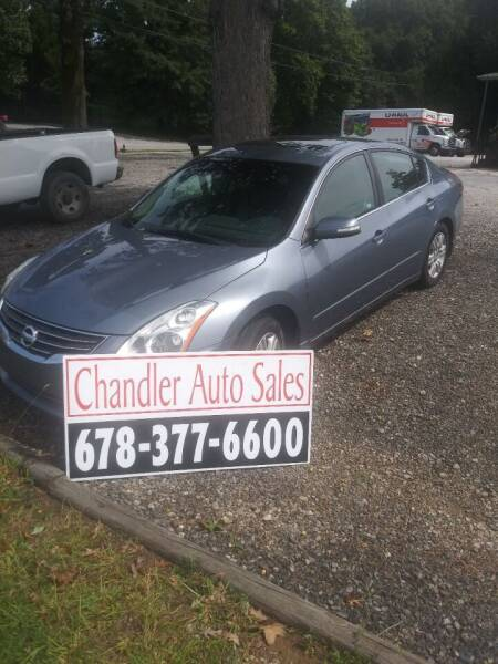 2010 Nissan Altima for sale at Chandler Auto Sales - ABC Rent A Car in Lawrenceville GA