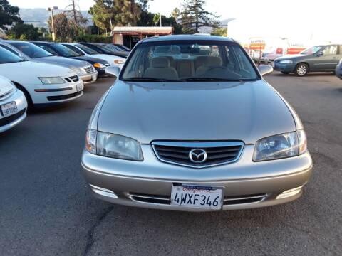 2001 Mazda 626 for sale at Goleta Motors in Goleta CA