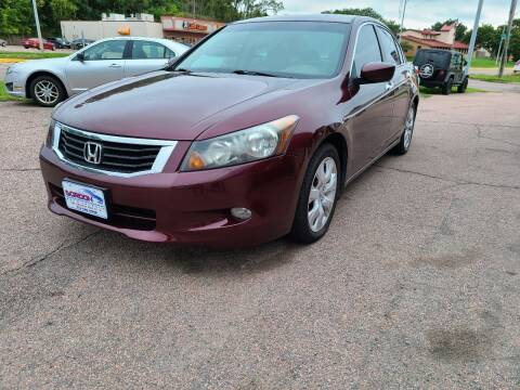 2008 Honda Accord for sale at Gordon Auto Sales LLC in Sioux City IA
