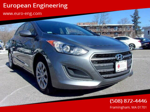 2017 Hyundai Elantra GT for sale at European Engineering in Framingham MA