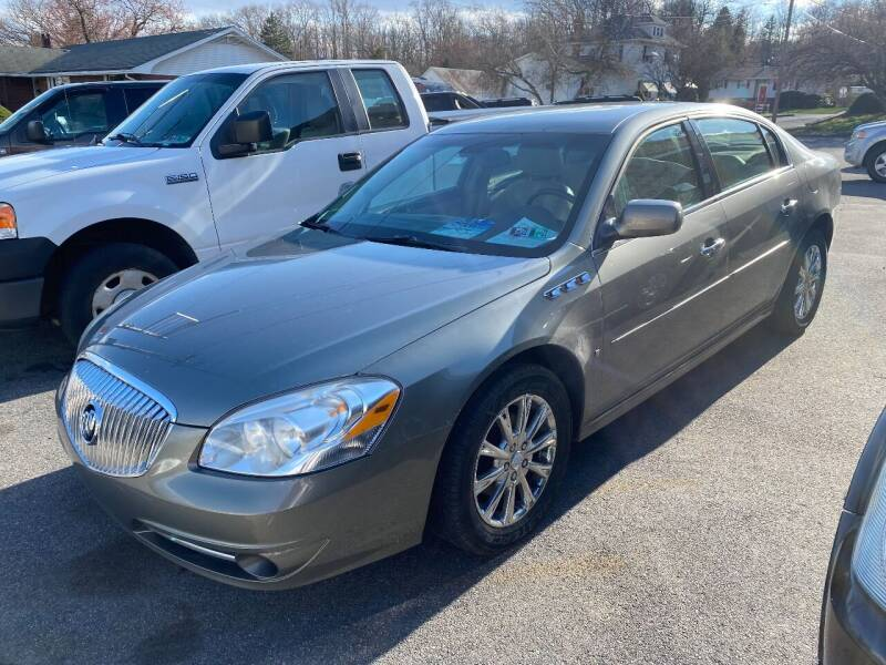 2010 Buick Lucerne for sale at TNT Auto Sales in Bangor PA