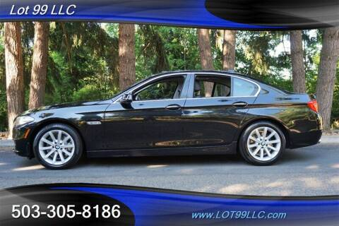 2014 BMW 5 Series for sale at LOT 99 LLC in Milwaukie OR