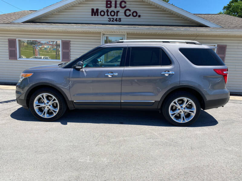 2013 Ford Explorer for sale at Bic Motors in Jackson MO