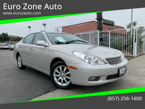 2004 Lexus ES 330 for sale at Euro Zone Auto in Stanton CA