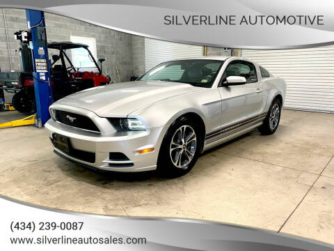 2014 Ford Mustang for sale at Silverline Automotive in Lynchburg VA