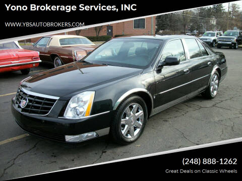 2006 Cadillac DTS for sale at Yono Brokerage Services, INC in Farmington MI