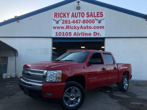 2009 Chevrolet Silverado 1500 for sale at Ricky Auto Sales in Houston TX
