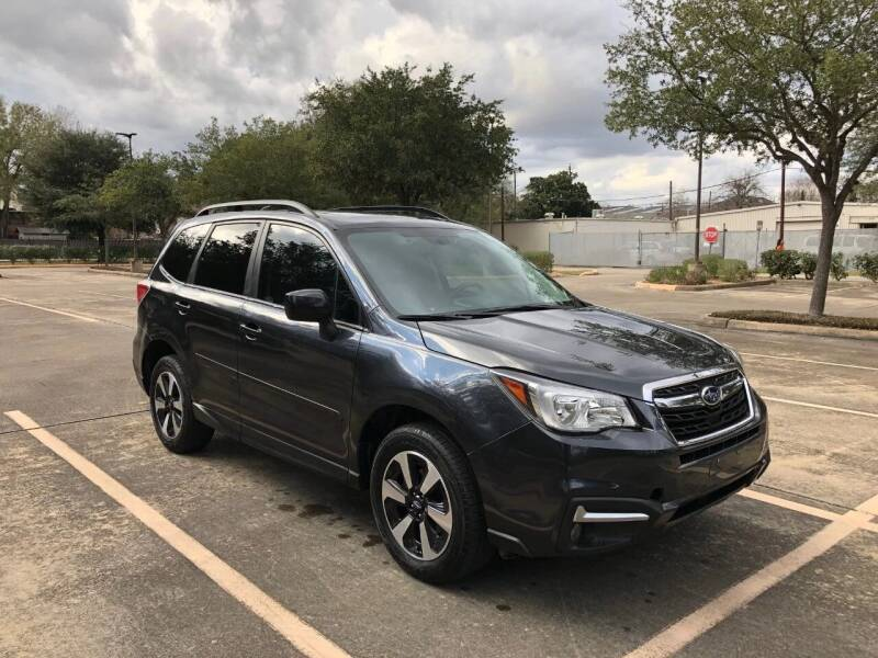 2017 Subaru Forester for sale at Mid-Town Auto in Houston TX