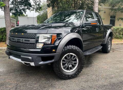 2010 Ford F-150 for sale at CARPORT SALES AND  LEASING in Oviedo FL