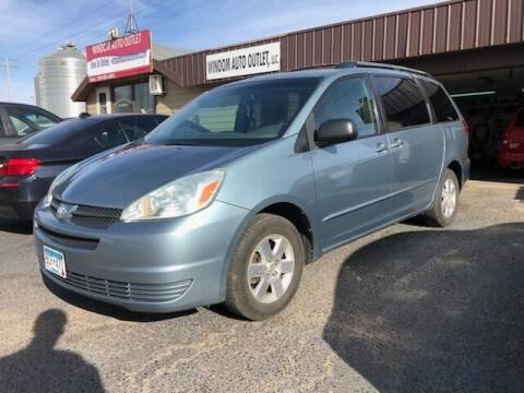 2004 Toyota Sienna for sale at WINDOM AUTO OUTLET LLC in Windom MN