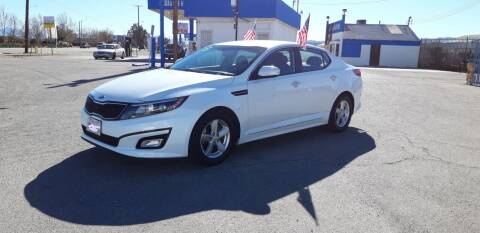 2014 Kia Optima for sale at Autosales Kingdom in Lancaster CA