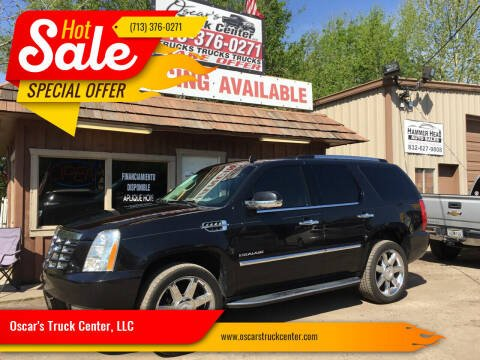 2012 Cadillac Escalade for sale at Oscar's Truck Center, LLC in Houston TX