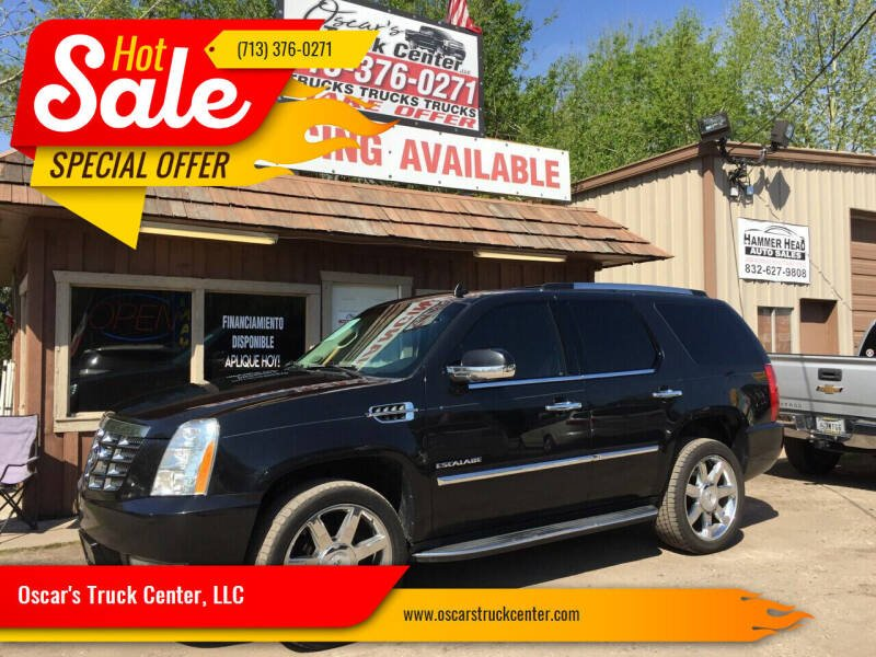 2012 Cadillac Escalade for sale at Oscar's Truck Center, LLC in Houston TX