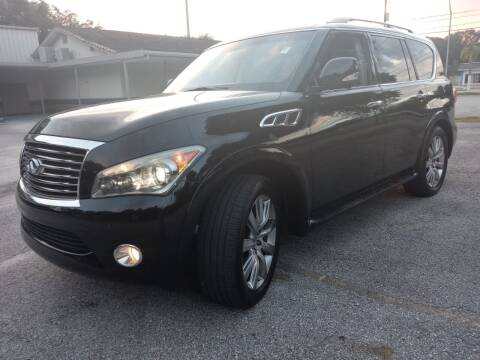 2012 Infiniti QX56 for sale at Royal Auto Mart in Tampa FL