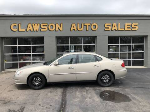 2008 Buick LaCrosse for sale at Clawson Auto Sales in Clawson MI