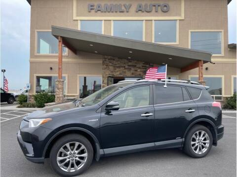2016 Toyota RAV4 Hybrid for sale at Moses Lake Family Auto Center in Moses Lake WA