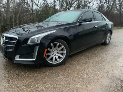 2014 Cadillac CTS for sale at Hatimi Auto LLC in Austin TX