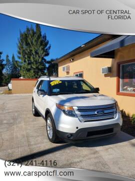 2013 Ford Explorer for sale at Car Spot Of Central Florida in Melbourne FL