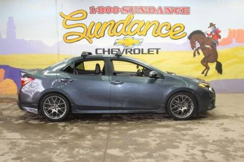 2014 Toyota Corolla for sale at Sundance Chevrolet in Grand Ledge MI