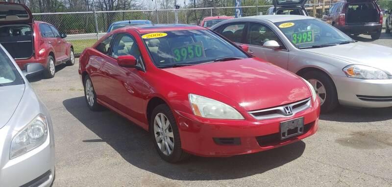 2006 Honda Accord for sale at Superior Motors in Mount Morris MI