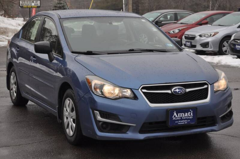 2015 Subaru Impreza for sale at Amati Auto Group in Hooksett NH