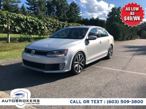 2013 Volkswagen Jetta for sale at Auto Brokers Unlimited in Derry NH