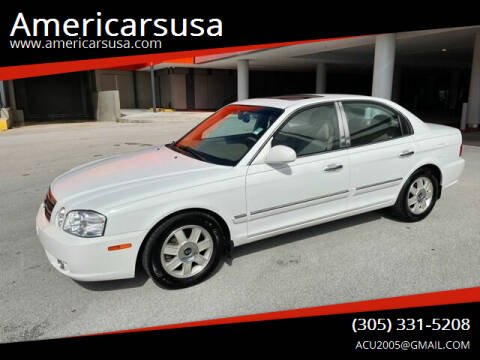 2006 Kia Optima for sale at Americarsusa in Hollywood FL