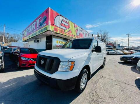 2015 Nissan NV Cargo for sale at EXPORT AUTO SALES, INC. in Nashville TN