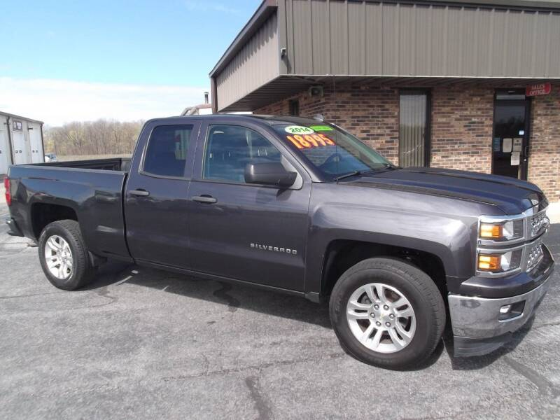 2014 Chevrolet Silverado 1500 for sale at Dietsch Sales & Svc Inc in Edgerton OH