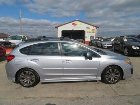 2012 Subaru Impreza for sale at Jefferson St Motors in Waterloo IA