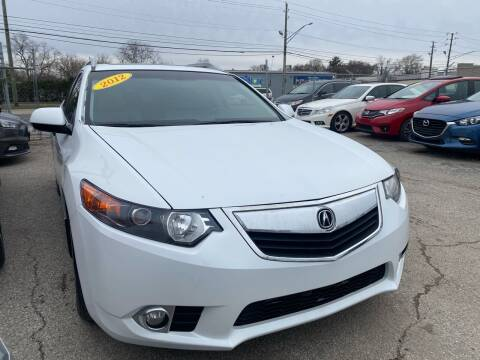 2012 Acura TSX Sport Wagon for sale at Unique Auto Group in Indianapolis IN
