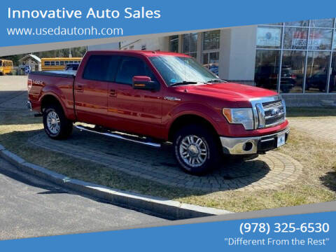 2010 Ford F-150 for sale at Innovative Auto Sales in North Hampton NH