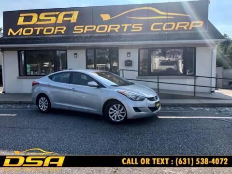 2012 Hyundai Elantra for sale at DSA Motor Sports Corp in Commack NY