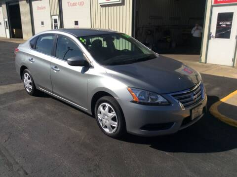 2014 Nissan Sentra for sale at TRI-STATE AUTO OUTLET CORP in Hokah MN