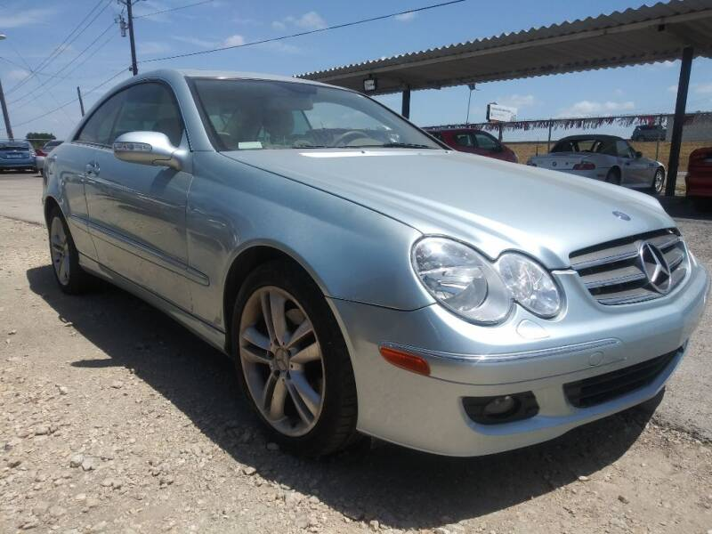 2007 Mercedes-Benz CLK for sale at South Point Auto Sales in Buda TX