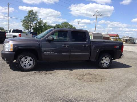 2010 Chevrolet Silverado 1500 for sale at Kevin's Motor Sales in Montpelier OH