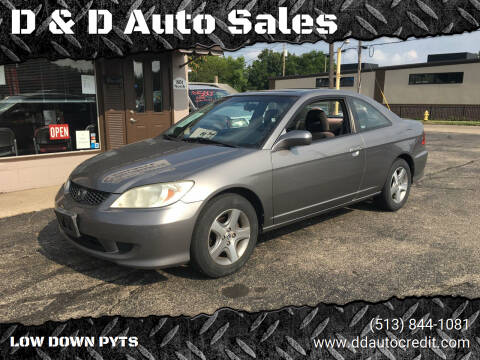 2004 Honda Civic for sale at D & D Auto Sales in Hamilton OH