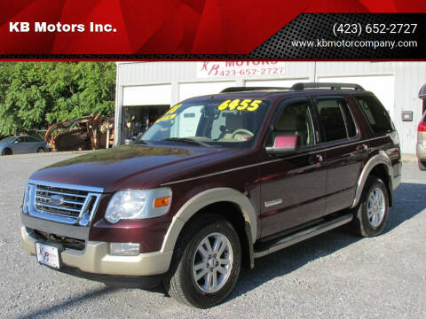 2008 Ford Explorer for sale at KB Motors Inc. in Bristol VA