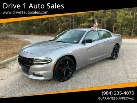2017 Dodge Charger for sale at Drive 1 Auto Sales in Wake Forest NC