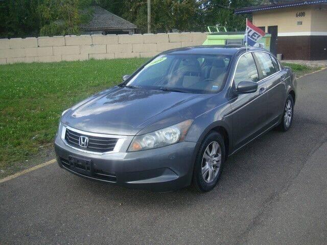 2009 Honda Accord for sale at MOTORAMA INC in Detroit MI