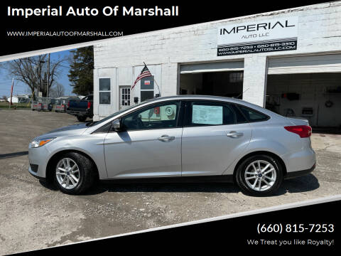 2017 Ford Focus for sale at Imperial Auto of Marshall in Marshall MO